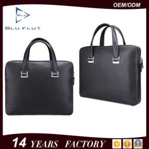 Fashion Brand Genuine Full Grain Cowhide Leather Briefcase Handbags pictures & photos