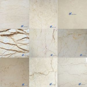 Customized Natural White Grey Beige Brown Black Stone Slab pictures & photos