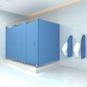 Beautiful Phenolic Toilet Cubicle Partition Material pictures & photos