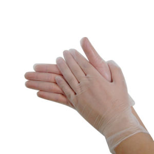Cleanroom Medical Disposable Vinyl PVC Gloves pictures & photos