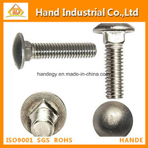 "Stainless Steel Competitive Price A4-80 5/8"" Guardrail Bolt pictures & photos"