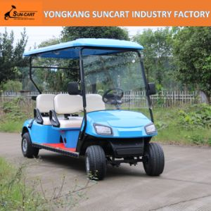 4 Seater Electric Golf Cart Used in Park, 4 Wheels Hotel Electric Car, Electric Car Used in Garden pictures & photos