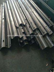 Traffic Barrier Guard Rail Roll Forming Machine pictures & photos