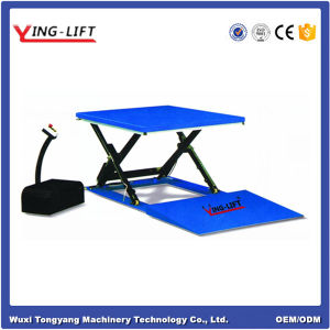 Super Low Profile Lift Table pictures & photos