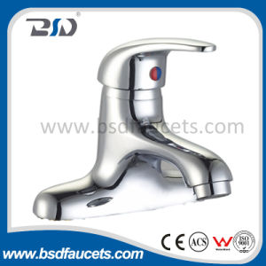Gooseneck Single Handle Chrome Basin Brass Rotating Kitchen Faucet Mixer pictures & photos