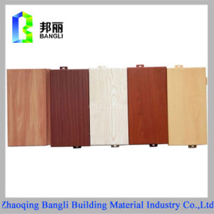 Wood Grain Coated Aluminum Panel Anodized Aluminum Sheet pictures & photos
