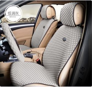 Car Seat Cover Flat Shape Ice Silk-Grey