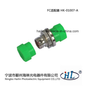 FC/APC Fiber Optic Round Adaptor with Copper Materials pictures & photos