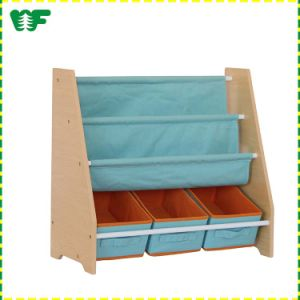New Arrival Wholesale Kids Solid Wood Book Shelf pictures & photos