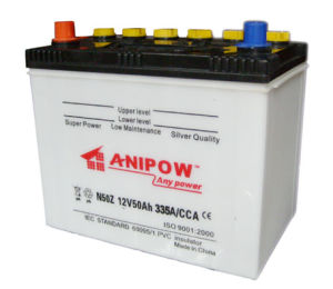 DIN-Standard 12V 50ah Battery Car Battery Truck Battery pictures & photos