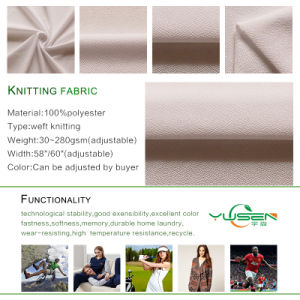Polyester Habijabi 2 Way Stretch Fabric pictures & photos