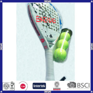 50% Carbon and 50% Fiberglass with Soft EVA Padel pictures & photos