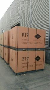 F17 Film Faced Plywood, Hardwood Core, Phonelic Glue, Size 1200X1800X17mm to New Zealand Market pictures & photos