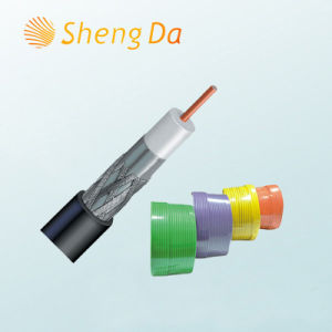 Digital 75 Ohm Communication and Telecom Coaxial Cable RG6 pictures & photos