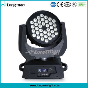 Ce DMX 36X10W RGBW 4in1 LED Moving Head Wash Light pictures & photos
