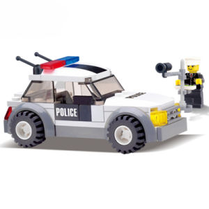 1486731-City Police Mini Car Action & Toy Figures Building Blocks Policeman Baby Toys for Children Building Bricks pictures & photos