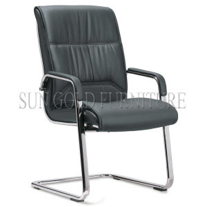Modern Genuine Leather/PU Aluminium Executive Boss Arm Office Chair (SZ-OC131C) pictures & photos