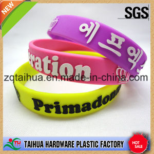 Decoration Gift for Activities Silicone Wristband with Thb-007 pictures & photos