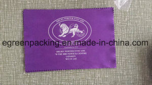 Purple Eyeglasses/Sunglasses Cleaning Cloth with Logo pictures & photos