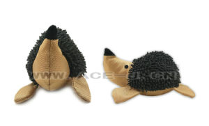 Cute Hedgehog Plush Pet Toy Training Chew Dog Toy with Squeaky pictures & photos