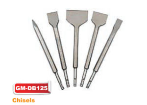 SDS-Plus Shank Chisels Sand Blasted (GM-dB125) pictures & photos