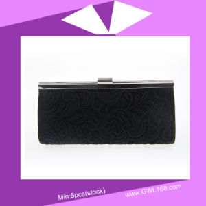 High Grade Simple Lady Evening Bag Hand Bag (CZ-045) pictures & photos