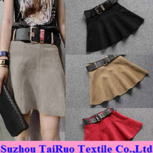 Micro Suede for Fashion Lady Dress Fabric pictures & photos
