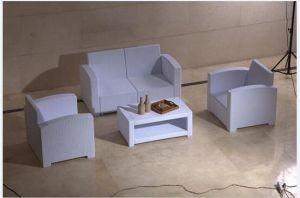 PE Material Plastic Patio Sofa pictures & photos