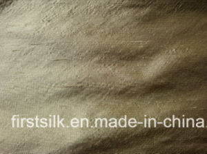 Silk Duppion Yarn Dyed Fabric pictures & photos