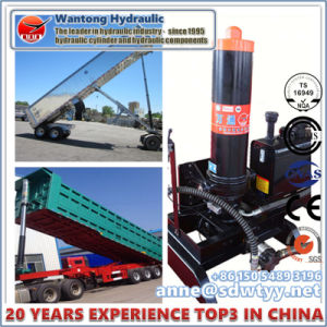 Hyva FC Multistage Telescopic Hydraulic Cylinder pictures & photos