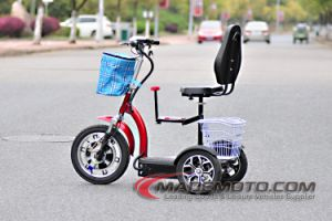 Mademoto 2016 Scoccer Games Electric Scooter Cricket Hot Sale Cheap 500W 3 Wheel Zappy Electric Scooter for Adult pictures & photos