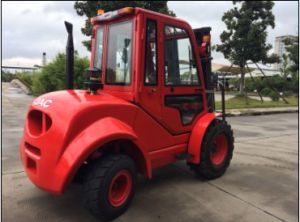 3.5 Ton off-Road Forklift/ Rough Terrain Forklift/JAC Diesel Forklift pictures & photos