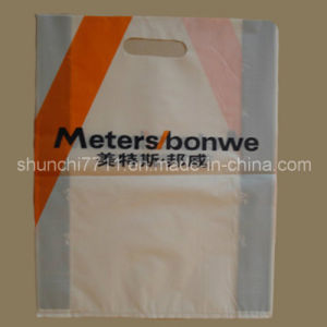 Plastic Punch Printing Shopping Bag pictures & photos