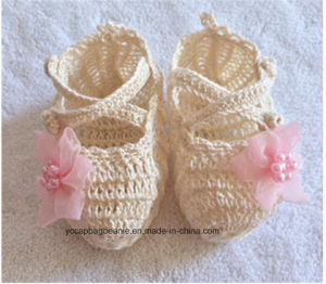 Lovely Warm Baby Knitting Pattern Baby Shoe pictures & photos