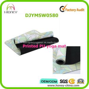 Full Colr Custom Printing PU Yoga Mat pictures & photos