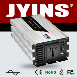 500W 12V/24V/48V/DC to AC/110V/120V/220V/230V/240V Pure Sine Wave Solar Power Inverter pictures & photos
