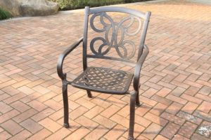 Outdoor Designs Stationary Chair Aluminum Furniture pictures & photos