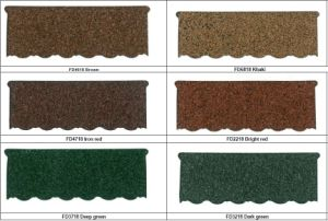 Color Coated Galvalume Roof Tile pictures & photos
