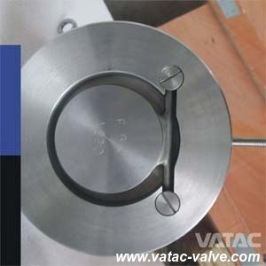 Cast Steel Wcb Swing Single Discwafer Check Valve pictures & photos
