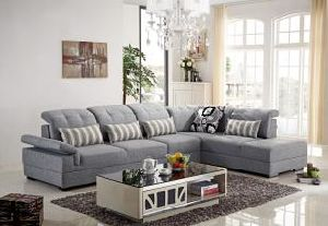 Modern Living Room Sofa Fabric Corner Sofa Lb1032 pictures & photos