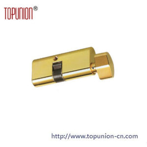 Single Opening Solid Brass Cylinder Lock with Knob pictures & photos