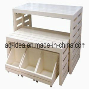 Display Stand/Wooden Display Stand/Make up Display Stand/Rotating Display Stand (AD-130503) pictures & photos