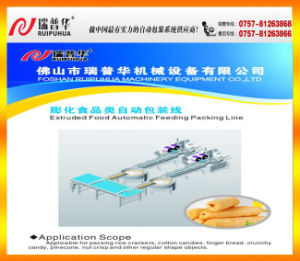 Extruded Food Automatic Feeding Packaging Line pictures & photos