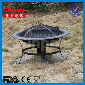 Hot Selling Foldable Charcoal Fire Pit with BBQ Grill (SP-FT007) pictures & photos