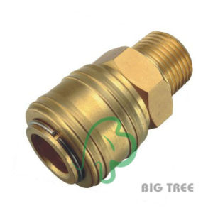Germany Type Pneumatic Quick Coupling/Coupler E04-Sm-1, Brass pictures & photos