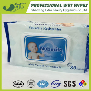 Popular Flip-Top Pack Baby Wipes 80PCS pictures & photos