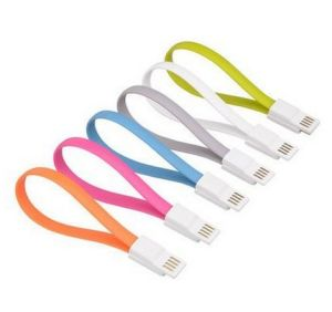 Noodle Style USB Cable for iPhone, iPad & Galaxy S6 pictures & photos