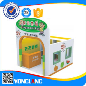 China Amusement Toy Factory Plastic Playhouse Indoor Playground (YL-FW0008) pictures & photos