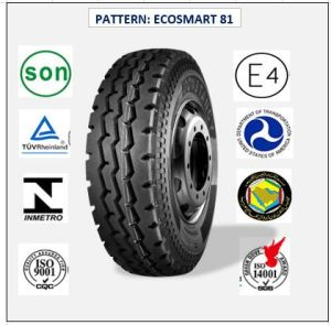 All Steel Radial Truck & Bus Tires with ECE Certificate 12r22.5 (ECOSMART 62 ECOSMART 78 ECOSMART 81) pictures & photos