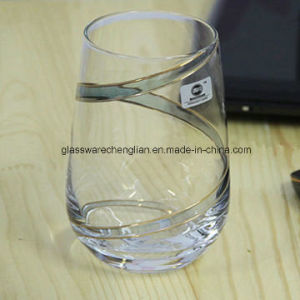 Novelty Charming Unique Design Clear Whisky Glass (B-C013) pictures & photos